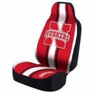 Nebraska Cornhuskers College Universal Bucket Car Seat Cover