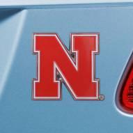 Nebraska Cornhuskers Color Car Emblem
