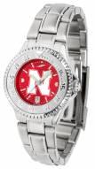 Nebraska Cornhuskers Competitor Steel AnoChrome Women's Watch
