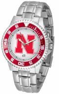 Nebraska Cornhuskers Competitor Steel Men's Watch