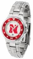 Nebraska Cornhuskers Competitor Steel Women's Watch