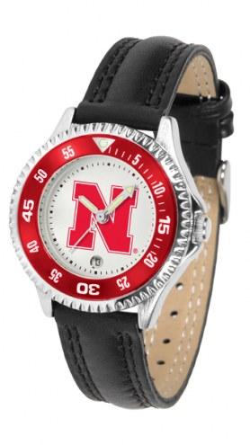 Nebraska Cornhuskers Competitor Women's Watch