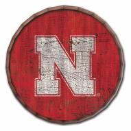 "Nebraska Cornhuskers Cracked Color 24"" Barrel Top"