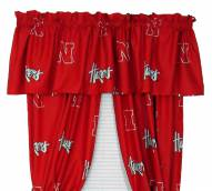 Nebraska Cornhuskers Curtains