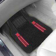 Nebraska Cornhuskers Deluxe Car Floor Mat Set
