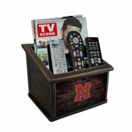 Nebraska Cornhuskers Distressed Team Color Media Organizer