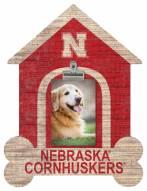Nebraska Cornhuskers Dog Bone House Clip Frame