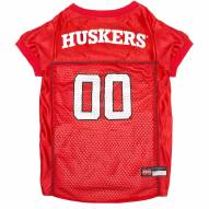 Nebraska Cornhuskers Dog Football Jersey