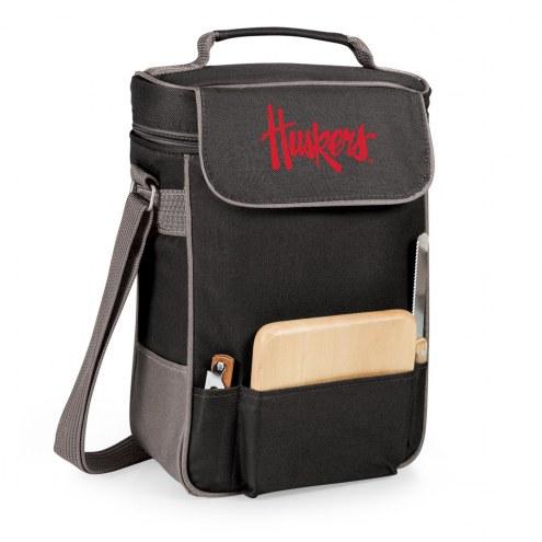 Nebraska Cornhuskers Duet Insulated Wine Bag
