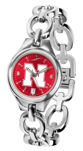 Nebraska Cornhuskers Eclipse AnoChrome Women's Watch