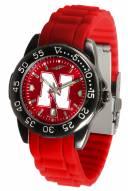 Nebraska Cornhuskers Fantom Sport Silicone Men's Watch