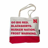 Nebraska Cornhuskers Favorite Things Tote