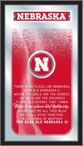 Nebraska Cornhuskers Fight Song Mirror