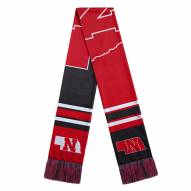 Nebraska Cornhuskers Colorblock Big Logo Scarf