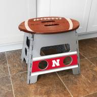 Nebraska Cornhuskers Folding Step Stool