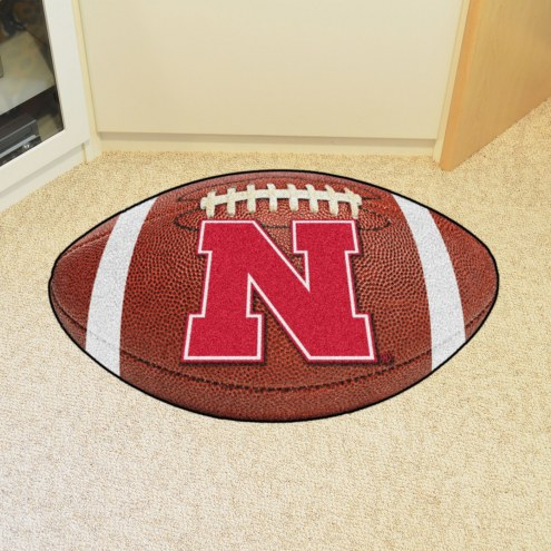 Nebraska Cornhuskers Football Floor Mat