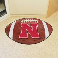 Nebraska Cornhuskers Football Floor Mat
