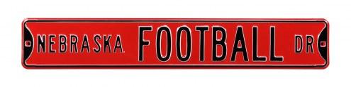 Nebraska Cornhuskers Football Street Sign