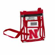 Nebraska Cornhuskers Gameday Clear Crossbody Tote