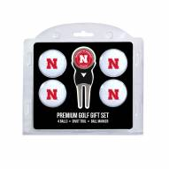 Nebraska Cornhuskers Golf Ball Gift Set