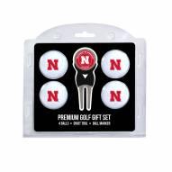 Nebraska Cornhuskers Golf Ball Gift Set