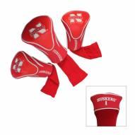 Nebraska Cornhuskers Golf Headcovers - 3 Pack