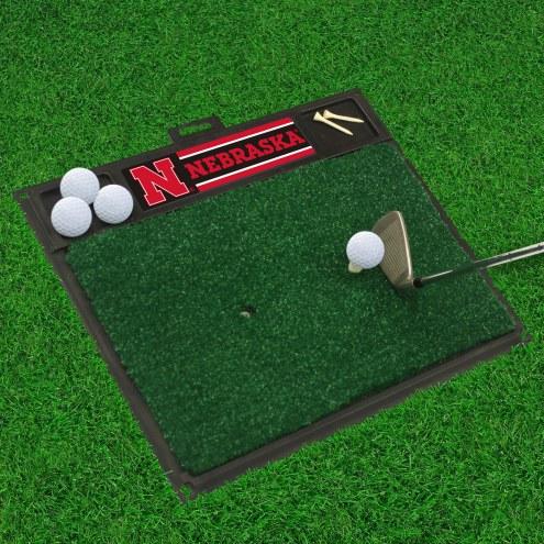 Nebraska Cornhuskers Golf Hitting Mat