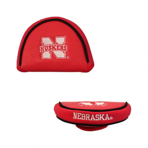 Nebraska Cornhuskers Golf Mallet Putter Cover