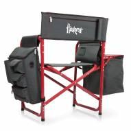 Nebraska Cornhuskers Gray/Red Fusion Folding Chair