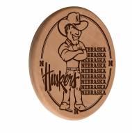 Nebraska Cornhuskers Laser Engraved Wood Sign