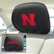 Nebraska Cornhuskers Headrest Covers