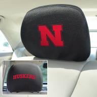 Nebraska Cornhuskers Headrest Covers