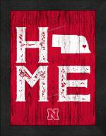 Nebraska Cornhuskers Home Away From Home Wall Decor