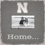 Nebraska Cornhuskers Home Picture Frame