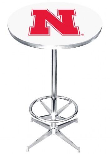 Nebraska Cornhuskers College Team Pub Table