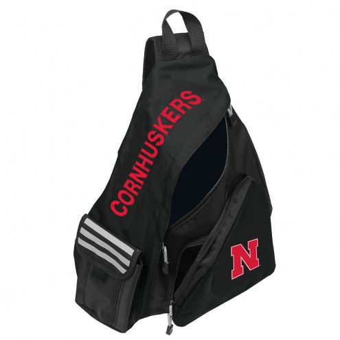 Nebraska Cornhuskers Leadoff Sling Backpack