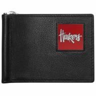 Nebraska Cornhuskers Leather Bill Clip Wallet