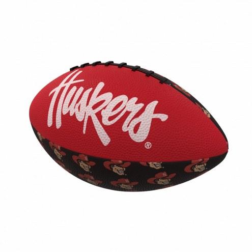 Nebraska Cornhuskers Mini Rubber Football