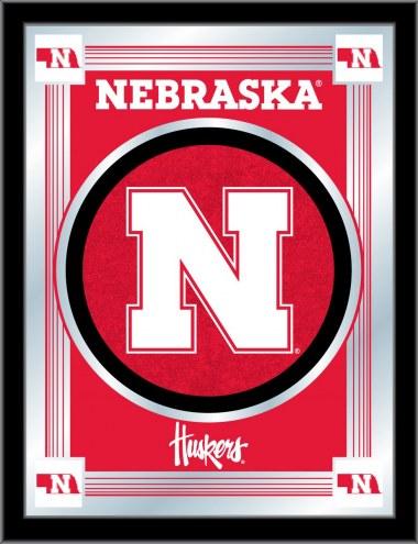 Nebraska Cornhuskers Logo Mirror