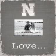Nebraska Cornhuskers Love Picture Frame