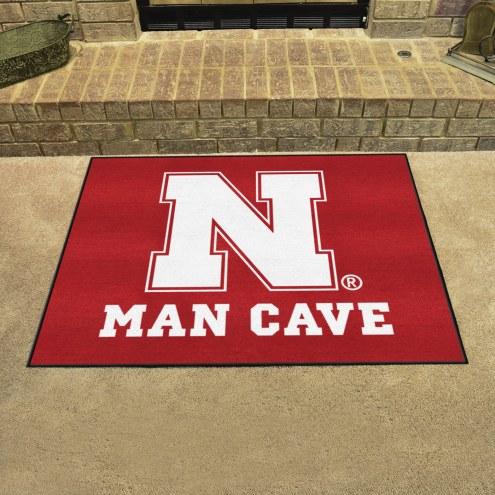 Nebraska Cornhuskers Man Cave All-Star Rug