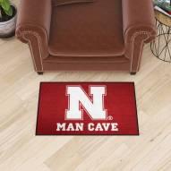 Nebraska Cornhuskers Man Cave Starter Mat