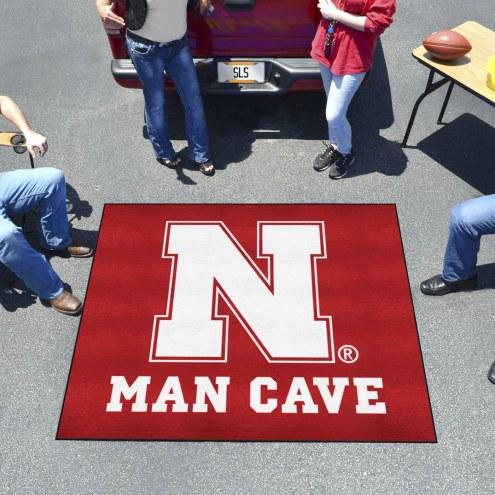 Nebraska Cornhuskers Man Cave Tailgate Mat