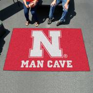 Nebraska Cornhuskers Man Cave Ulti-Mat Rug