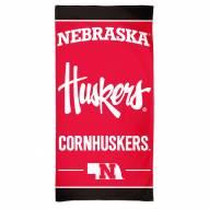 Nebraska Cornhuskers McArthur NCAA Beach Towel