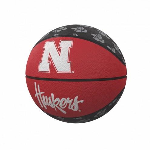 Nebraska Cornhuskers Mini Rubber Basketball
