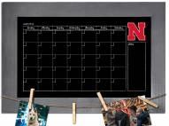 Nebraska Cornhuskers Monthly Chalkboard with Frame