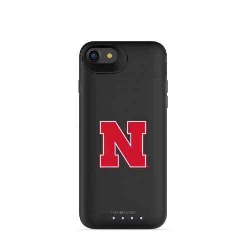 Nebraska Cornhuskers mophie iPhone 8/7 Juice Pack Air Black Case