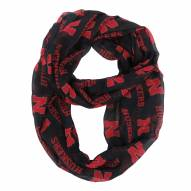 Nebraska Cornhuskers NCAA Alternate Sheer Infinity Scarf