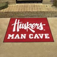 Nebraska Cornhuskers NCAA Man Cave All-Star Rug